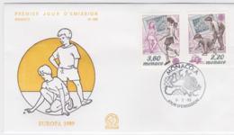 Monaco 1989 FDC Europa CEPT (G101-27) - 1989