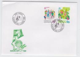 Liechtenstein 1989 FDC Europa CEPT (G101-27) - 1989