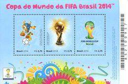 BRESIL Bloc Football FIFa 2014 Neuf ** MNH - Brésil