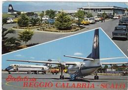 AEROPORTO-AEROPORT-AIRPORT-FLUGHAFEN-AERODROM-=REGGIO CALABRIA ITALIA=-VIAGGIATA IL 24-8-1976 - Aerodromi
