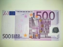EURO-GERMANY 500 EURO (X) R002 Sign DUISENBERG - EURO