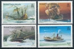 British Virgin Islands - Postfrisch/** - Schiffe, Seefahrt, Segelschiffe, Etc. / Ships, Seafaring, Sailing Ships - Maritime