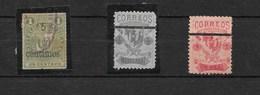 República Dominicana. Tres Sellos Clásicos Difrentes - Postales
