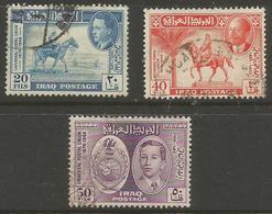 Iraq - 1949 UPU Anniversary Used  SG 339-41 - Iraq