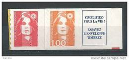 France 1996 Timbres Adhésifs Neufs Avec Vignette  Se Tenant ** Issus De Carnet N° 3009b  Cote 9 Euros - France