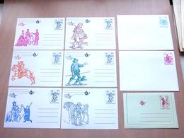 Belgica 82 Postwaardestukken Set(s) - Stamped Stationery