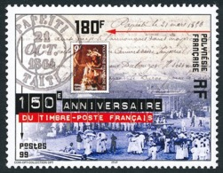 POLYNESIE 1999 - Yv. 602 **   Faciale= 1,51 EUR - 1er Timbre-poste Français  ..Réf.POL24137 - Französisch-Polynesien