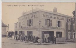 VERT LE PETIT  Hôtel-restaurant Lanquetin - Vert-le-Petit