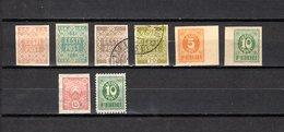 Estonia   1918-19  .-  Y&T  Nº    1/4 - 6/9 - Estonia