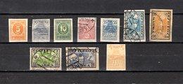 Estonia   1919  .-  Y&T  Nº    6/8 - 10/16 - Estonia