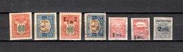 Estonia   1920  .-  Y&T  Nº    40/41-42/43-44/46 - Estonia