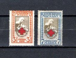 Estonia   1921  .-  Y&T  Nº    47/48   ( Dentado ) - Estonia
