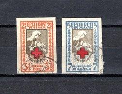 Estonia   1921  .-  Y&T  Nº    47/48   (  No  Dentado ) - Estonia