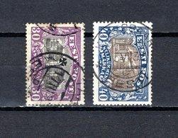 Estonia   1924-27  .-  Y&T  Nº    81/82 - Estonia