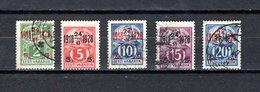 Estonia   1928  .-  Y&T  Nº    91/95 - Estonia