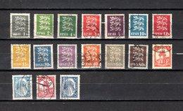 Estonia   1928-32  .-  Y&T  Nº    97/109 - 117/120 - Estonia