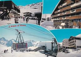 38 L'Alpe D'Huez, La Station, Multivues - Autres Communes