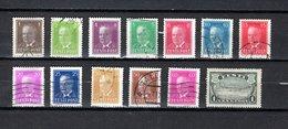 Estonia   1936-40  .-  Y&T  Nº    136/137-138/140-141/142-143/143B-144/145A - Estonia