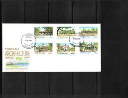 Tokelau 1985 Architecture FDC - Kirchen U. Kathedralen