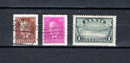 Estonia   1936-40  .-  Y&T  Nº    144/145A - Estonia