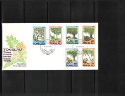 Tokelau 1985 Trees FDC - Bäume