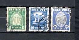 Estonia   1936  .-  Y&T  Nº    146/147 - 149 - Estonia