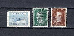 Estonia   1936  .-  Y&T  Nº    158 - 159/160 - Estonia