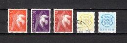 Estonia   1940-92  .-  Y&T  Nº    175/177-190-193 - Estonia