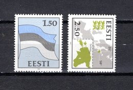 Estonia   1991  .-  Y&T  Nº    188/189 - Estonia