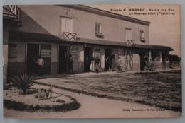 Le Dossen - Siek - Ecurie P. Marrec - Sortie Des Box - Chevaux Et écuyers - Cliché Charrouin- St-Paul De Léon- Vers 1910 - Ile-de-Batz