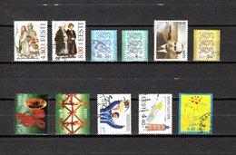 Estonia   2000-2001  .-  Y&T  Nº    365/366-366A/367-368-370-374/375-376-377-378 - Estonia