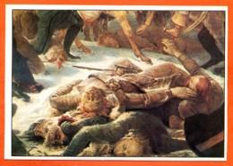 GROS Le Champ De Bataille D'Eylau Fiche Carte Peinture Art - Sammelkarten, Lernkarten