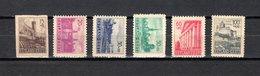 Estonia   1941  .-  Y&T  Nº     4/9   Ocupación Alemana - Estonia