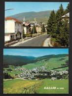 Gallio Province De Vicence Vicenza Vénétie - 2 Cartes CPSM Italie - Vicenza