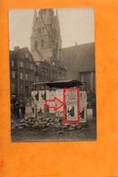 FLENSBURG  -  1920 ABSTIMMÜNG FLENSBURG  -  ST NICOLAI KIRCHE  -  1920  -  ZURÜCK NACH DÄNEMARK ? - Flensburg