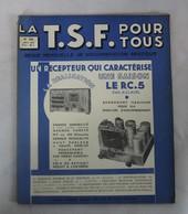 Revue-Magazine-LA-TSF-POUR-TOUS-N-136-Avril -1936-Le RC.5 - Books, Magazines, Comics