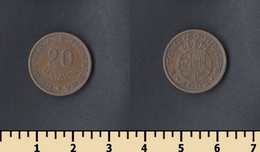 Sao Tome And Principe 20 Centavos 1962 - Sao Tome And Principe