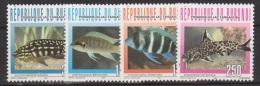Burundi COB 1082/85 Fish-Vissen-Poissons 1996 MNH - 1990-99: Nuovi