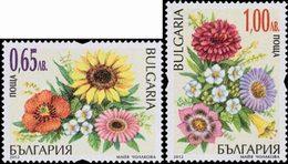 BULGARIE Courants Fleurs 2v 1,00+0,65 Neuf ** MNH - Nuovi