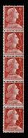 YV 1009A N** Bande De 5 De Roulette Marianne De Muller Cote 16 Euros - Unused Stamps