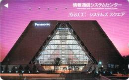 PAYSAGE - VILLE - IMMEUBLE - - Télécarte Japon - Landschappen