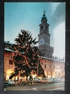 CARTOLINA ANTICA-VIGEVANO-PAVIA-PIAZZA DUCALE-TORRE DEL BRAMANTE-'900 - Italy