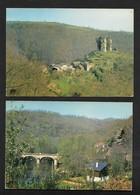 La Salvetat Peyralès - Environs  / Arrondissement De Villefranche-de-Rouergue Aveyron - 2 Cartes CPSM - Villefranche De Rouergue