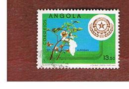ANGOLA  -  SG 762     - 1980 ANGOLAN PRODUCE: COTTON -  USED - Angola