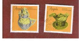 ANGOLA  -  SG 1081.1082      - 1995 TRADITIONAL CERAMICS  -  USED - Angola