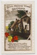 AI76 Greetings - Loving Birthday Wishes, Grandma, Cottage - Birthday