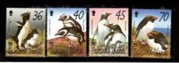 Falkland Islands 2002 WWF Penguins Flightless Birds Animals Sc 817-20 MNH # 312 - W.W.F.