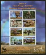 Mozambique 2002 WWF Savannah Elephant Wildlife Sc 1587 Special Edition M/s MNH # 314Sp - W.W.F.