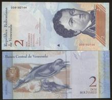 Venezuela 2 Bolivares 2012 Pick 88 UNC - Venezuela