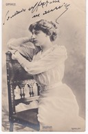 Photo Ogerau -  DAUPHIN -  Au Gymnase - Dos Simple 1904 - Künstler